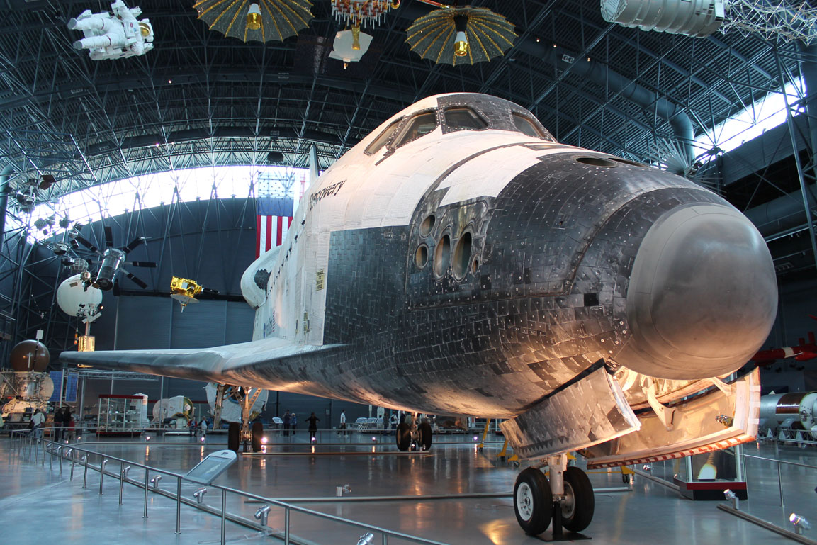 who built space shuttle discovery - photo #35